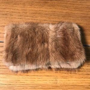 Handbags - Fur Checkbook Cover